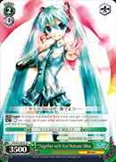 PD/S22-E031 R Together with You Hatsune Miku