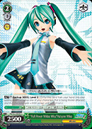 Full Power Mikku Miku Hatsune Miku - PD/S22-E044 - C
