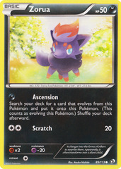 Zorua - 89/113 - Common