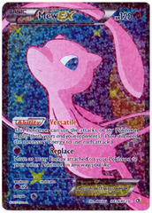 Mew EX - RC24/RC25 - Full Art Ultra Rare