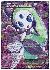 Meloetta EX - RC25/RC25 - Full Art Ultra Rare