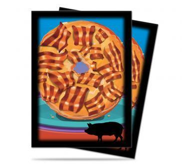 Bacon Donut Standard Deck Protectors 50ct