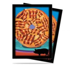 Bacon Donut (Ultra Pro) - Standard Sleeves - 50ct