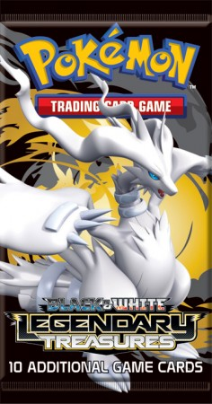 Pokemon Black & White BW11 Legendary Treasures Booster Pack