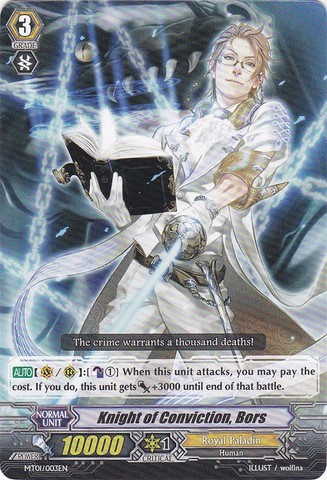 Knight of Conviction, Bors - MT01/003EN