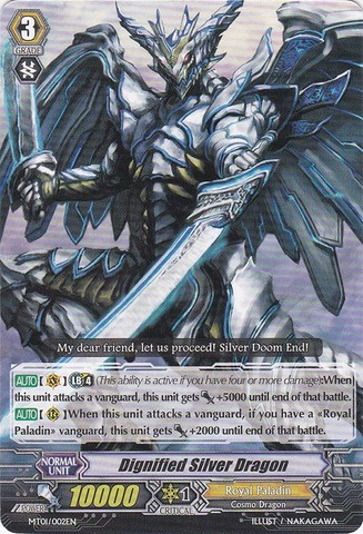 Dignified Silver Dragon - MT01/002EN