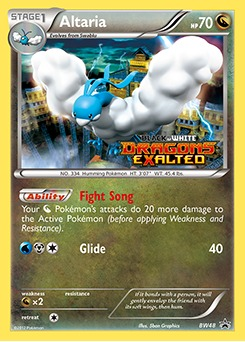 Altaria - BW48 - Promotional - Dragons Exalted Prerelease Promo