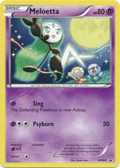 Meloetta - BW68 - Promotional on Channel Fireball