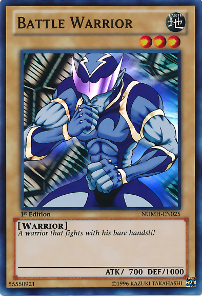 Battle Warrior - NUMH-EN025 - Super Rare - Unlimited