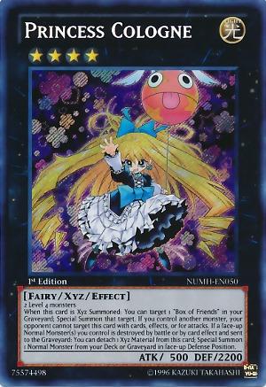 Princess Cologne - NUMH-EN050 - Secret Rare - Unlimited