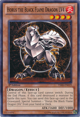 Horus the Black Flame Dragon LV4 - YSKR-EN019 - Common - 1st Edition on Channel Fireball
