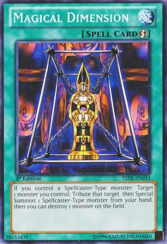 Magical Dimension - YSYR-EN033 - Common - 1st Edition