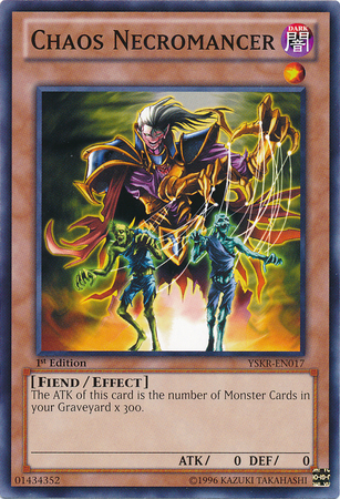 Chaos Necromancer - YSKR-EN017 - Common - 1st Edition