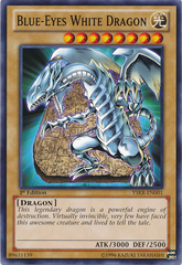 Blue-Eyes White Dragon - YSKR-EN001 - Common - 1st Edition on Channel Fireball