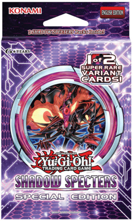 Yu-Gi-Oh Shadow Specters Special Edition Pack