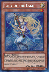 Lady of the Lake - SHSP-EN084 - Secret Rare - Unlimited Edition
