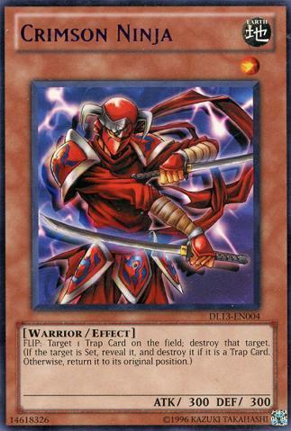 Crimson Ninja - Purple - DL13-EN004 - Rare - Unlimited Edition