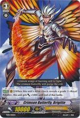 Crimson Butterfly, Brigitte - TD01/001EN (Holo) on Channel Fireball
