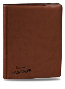 Premium 9-Pocket Brown PRO-Binder