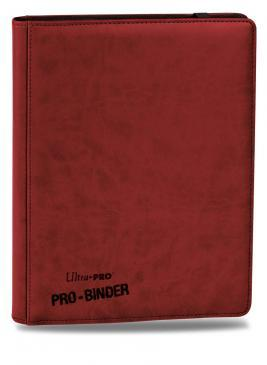 Ultra Pro Premium 9-Pocket Red PRO-Binder