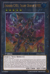 Number C101: Silent Honor DARK - LVAL-EN046 - Ultimate Rare - 1st Edition